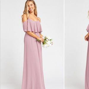 Show Me Your Mumu - Caitlin Ruffle Maxi Dress
